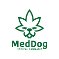 Med Dog Medical Cannabis  logo