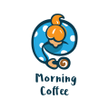 Morning coffee  logo