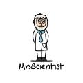 Mr. Scientist  logo