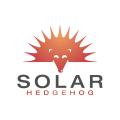 太陽刺猬Logo