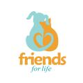 動物收容所Logo