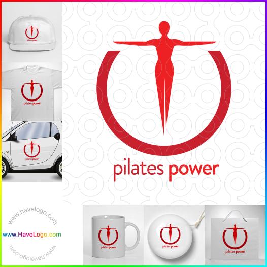 fitness logo - ID:35169