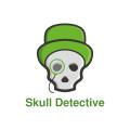 骷髏偵探Logo