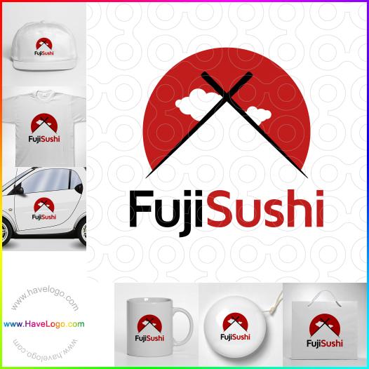 sushi bar logo - ID:27761