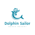 Dolphin Sailor  logo
