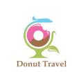 Donut Travel  logo