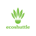 Eco Shuttle  logo