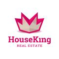 國王房地產Logo