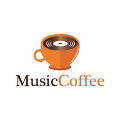 Music Coffee  logo
