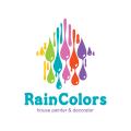 雨的顏色logo