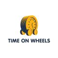 輪子上的Logo