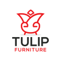 Tulip Furniture  logo