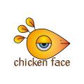 chicken-face  logo