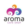 Aroma Cafe Shop  logo