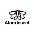 原子的昆蟲Logo