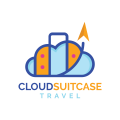 Cloud Suitcase  logo