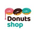 甜甜圈店Logo