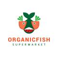 有機魚Logo