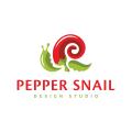 辣椒蝸牛Logo