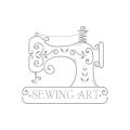 縫紉機店Logo