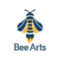 蜜蜂的藝術Logo