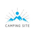 Camping site  logo