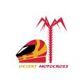 Desert motocross  logo