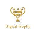 Digital Trophy  logo