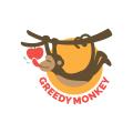 貪婪的猴子Logo