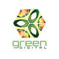 Green Digital  logo
