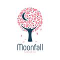Moon Fall  logo