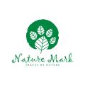 自然地Logo
