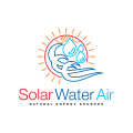 Solar Water Air  logo