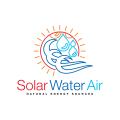 太陽能空氣Logo
