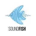 魚類的聲音標誌Logo