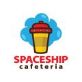 Spaceship Cafeteria  logo