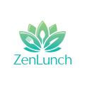 Zen Lunch  logo