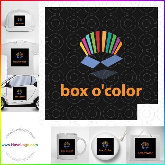 色彩艷麗logo設計 - ID:17790