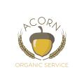 Acorn Organic Service  logo