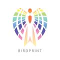 Bird Print  logo