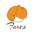 Foxes sleep  logo