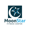Moon star fitness center  logo
