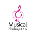 音樂攝影Logo