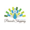 孔雀的購物券logo
