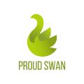 驕傲的天鵝Logo