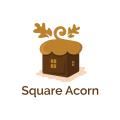 Square Acorn  logo