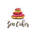 禪宗的蛋糕Logo