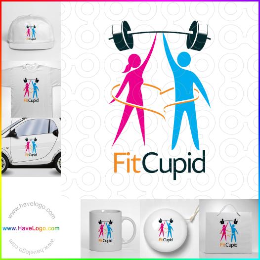 舉重運動員logo設計 - ID:35170