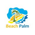 Beach Palm  logo