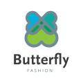Butterfly Fashion  logo